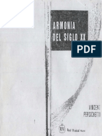 HARMONY - Persichetti, Vincent - Armonia Del Siglo XX (Spanish)