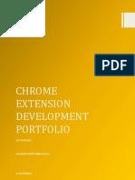 Chrome Extension Development Portfolio