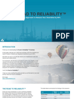 The Road to Reliability a Simple 4 Step Approach to Reduce Your Downtime by 90%
