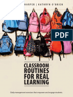 Classroom Routines for Real Learning Student-Centered Activities That Empower and Engage