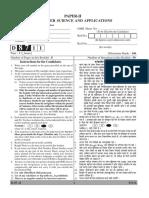 UGC NET Previous Papers CS 2011-2017
