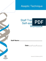 Aseptic Technique Staff Workbook Ward Use V2.5 Cdcb Ics 20170405