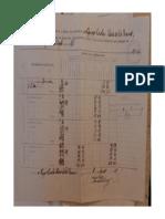 Mapa de Matricula Do 5 Grupo Escolar Do Pará (1919)