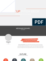 Startup Pitch Deck Not Animated