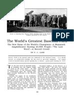 The World's Greatest Baseball Park, F.C. Lane