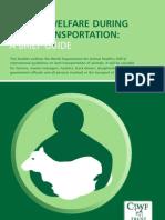 Animal Welfare During Land Transportation