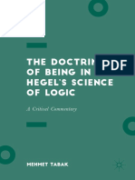 Mehmet Tabak - The Doctrine of Being in Hegel's Science of Logic_ a Critical Commentary (2017, Palgrave Macmillan)