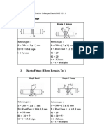 Strainer and Welding Procedure for Piping ( Revisi ). (1)