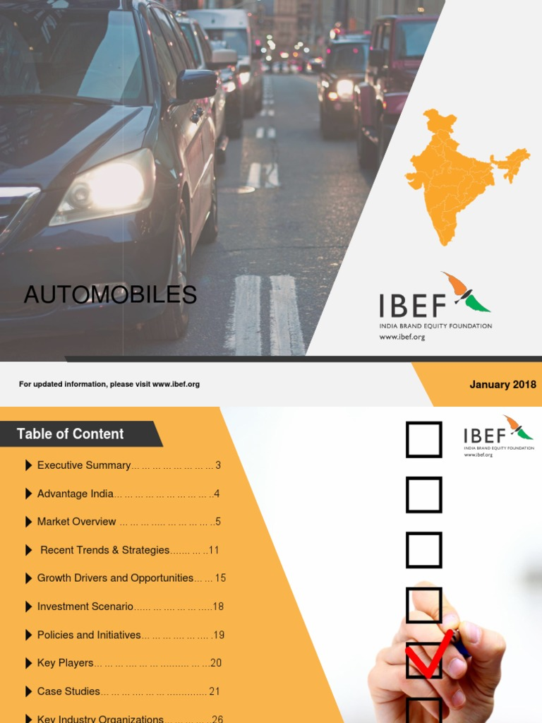 Automobiles report 2017 | Car | Wheeled Vehicles