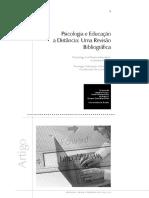 Psicologia e Educação à Distância - Uma Revisão Bibliográfica