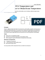 13.How to Use DHT11 Temperature Sensor to Detect the Temperature in the Room