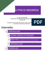 Masalah PTM Di Indonesia Dr. Siswanto