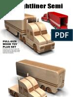 Plano Freightliner Semi Truck