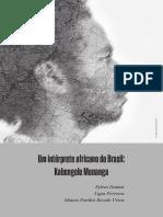 Um Intérprete Africano Do Brasil Kabengele Munanga