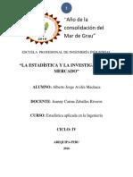 Alberto Jorge Aviles Machca IV