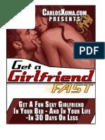 Get a girlfriend fast