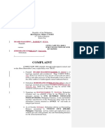 Complaint Collection of Sum of Money Suyo v Pacana