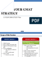 GMAT Tactical Strategies