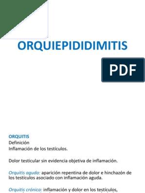 prostatitis crónica dolor testicular