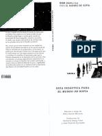 GARCIA MORIYON, F. (Ed), Guia Didactica Para El Mundo de Sofia, 1998