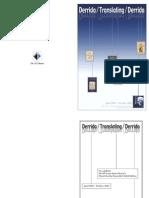 Checklist Derrida