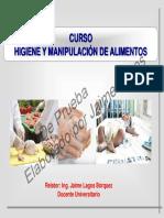 Presentación Higiene y Manipulacion