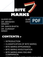 BITE MARKS BY DIXIT DAVE.pptx
