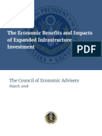The Economic Benefits and Impacts of Expanded Infrastructure Investment