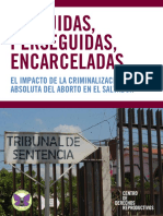 El aborto en El Salvador