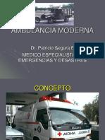 Ambulancia Moderna 0