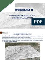 Georreferenciación y Utm