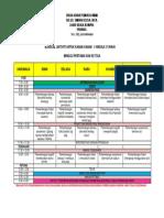 Jadual Aktiviti Untuk Kanak2 1-3 Tahun Wk 1 Dan 3 Tspu