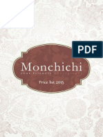 Monchichi Price List 2015