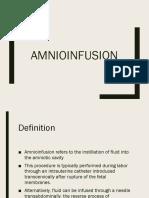 Amnio Infusion