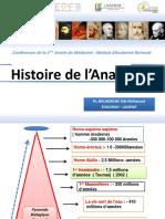 Histoire Anatomie