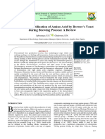 Production and Utilization of Amino Acid by Brewer's Yeast During Brewing Process_A Review