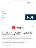 Conditions for a Valid Marriage in India [All Religions] _ PocketLawyer