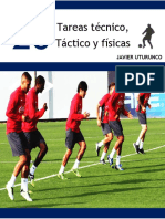 20 Tareas Tecnico Tactico y Fisicas