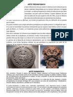 arte prehispanico renacimineto romanticismo gotico barroco.docx
