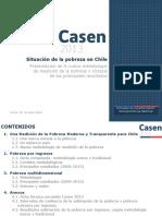 Casen2013 Situacion Pobreza Chile