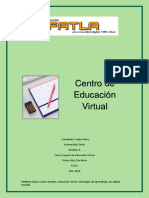 Trabajo academico Educacion Virtual