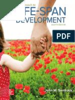 Santrock - A Topical Approach to Life-Span Development 8th Edition c2016 Txtbk