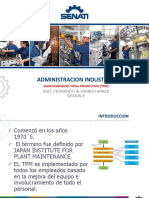 Mantenimiento Productivo Total (Tpm) Sesion 8