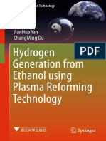 (Green Energy and Technology) JianHua Yan, ChangMing Du (Auth.)-Hydrogen Generation From Ethanol Using Plasma Reforming Technology-Springer Singapore (2017)