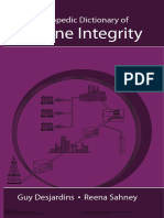 Encyclopedic Dictionary of Pipeline Integrity