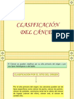 Clasificacion Del Cancer