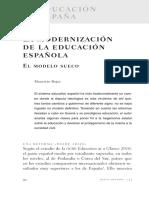 La modernizacion de la educacion española.pdf