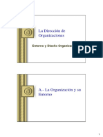 Direccion Organizaciones