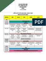 Jadual Aktiviti Untuk Kanak2 3-4 Tahun Wk 2 Dan 4 Tspu