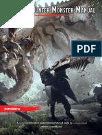 Monster Hunter Monster Manual